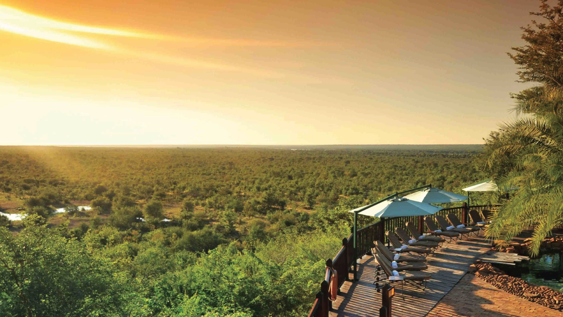 Victoria-Falls-Safari-Lodge-Hotel-pool-sunset